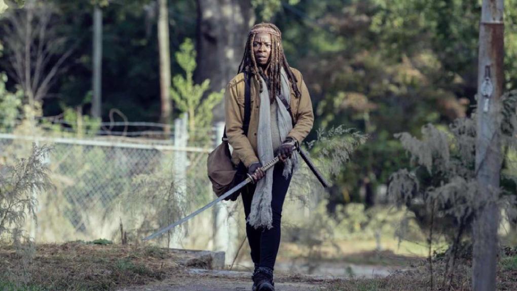 Maggie de retour dans la saison 10 — The Walking Dead