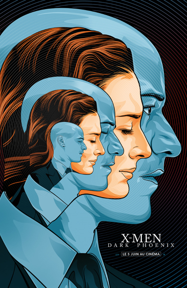 Jean Grey/Phoenix et Charles Xavier