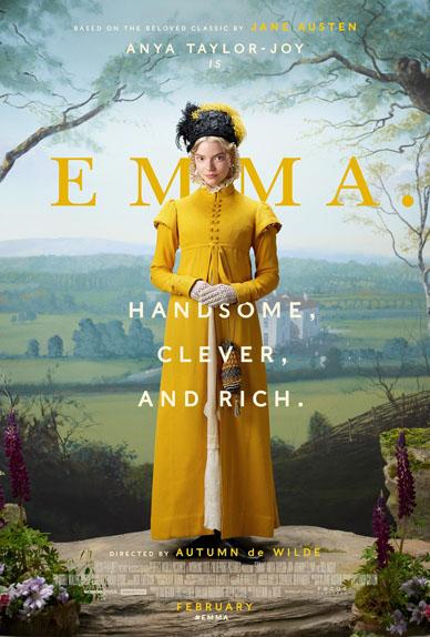 Emma avec Anya Taylor-Joy, Gemma Whelan et Josh O'Connor