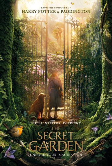 Le Jardin secret avec Colin Firth, Dixie Egerickx, Julie Walters