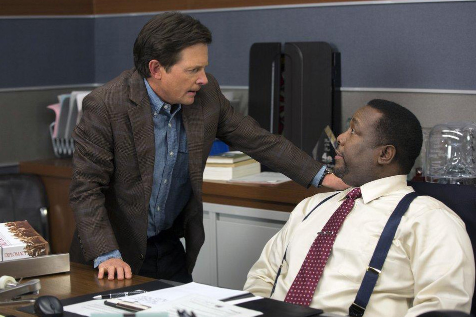 Photo Michael J. Fox, Wendell Pierce