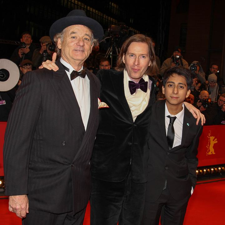 The Grand Budapest Hotel : Photo promotionnelle Bill Murray, Tony Revolori, Wes Anderson