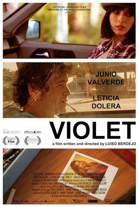 Violet : Affiche