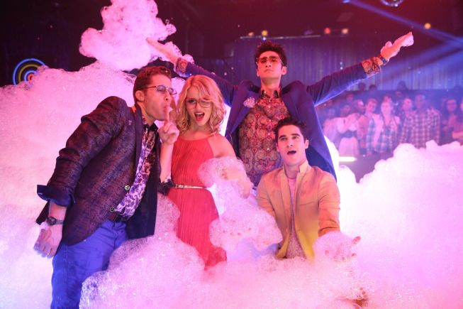 Photo Darren Criss, Dianna Agron, Harry Shum Jr., Matthew Morrison
