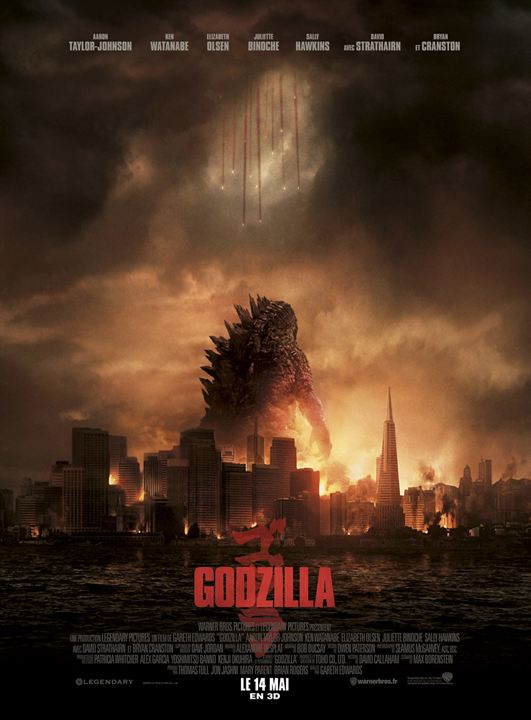 Godzilla : Affiche