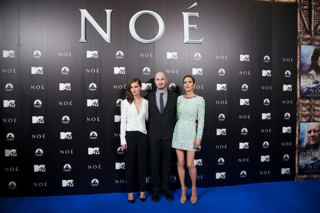 Noé : Photo promotionnelle Darren Aronofsky, Emma Watson, Jennifer Connelly