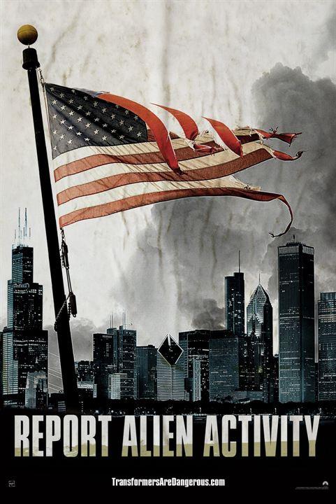 Transformers : l'âge de l'extinction : Affiche