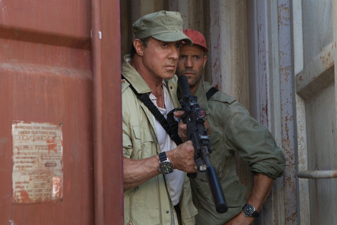 Expendables 3 : Photo Jason Statham, Sylvester Stallone
