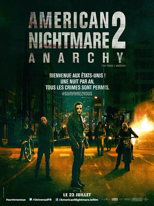 American Nightmare 2 : Anarchy : Affiche