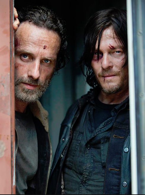 Photo Andrew Lincoln, Norman Reedus