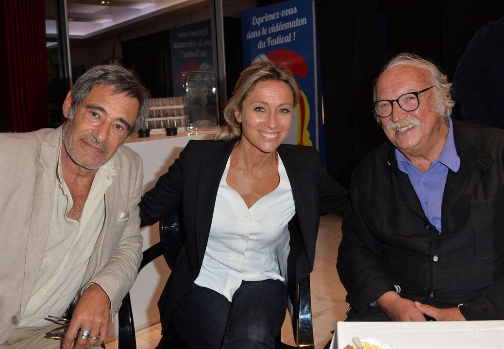 Bon rétablissement ! : Photo promotionnelle Anne-Sophie Lapix, Gérard Lanvin, Jean Becker