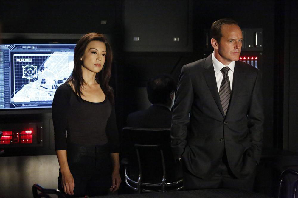 Photo Clark Gregg, Ming-Na Wen