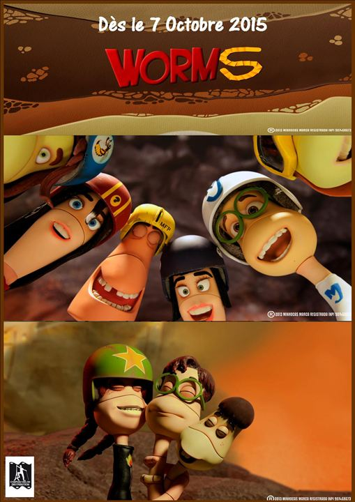 Worms : Affiche