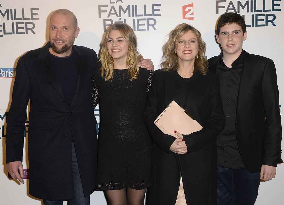 La Famille Bélier : Photo promotionnelle François Damiens, Karin Viard, Louane Emera, Luca Gelberg