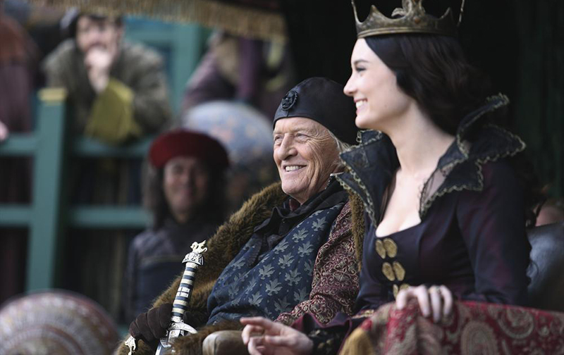 Photo Mallory Jansen, Rutger Hauer