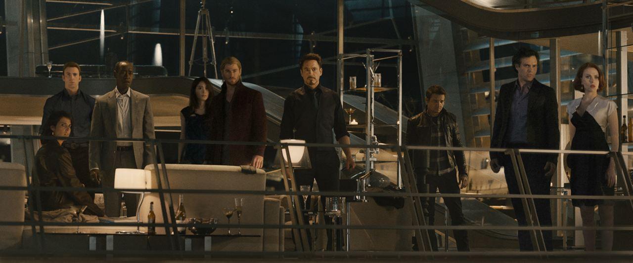Avengers : L'ère d'Ultron : Photo Chris Evans, Chris Hemsworth, Claudia Kim, Cobie Smulders, Don Cheadle
