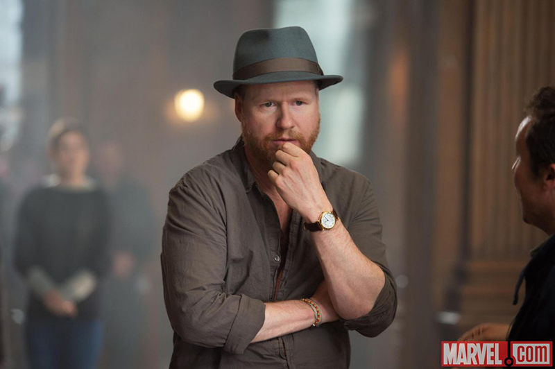 Avengers : L'ère d'Ultron : Photo Joss Whedon
