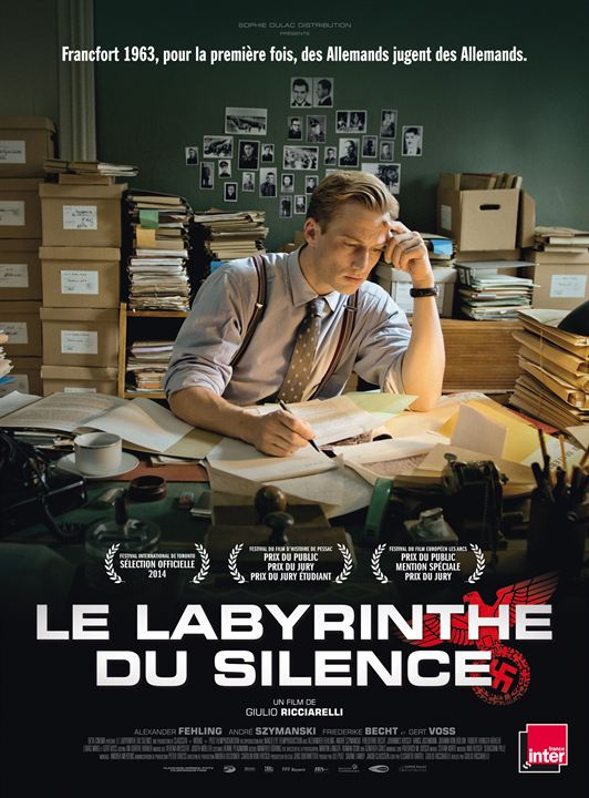 Le Labyrinthe du silence : Affiche