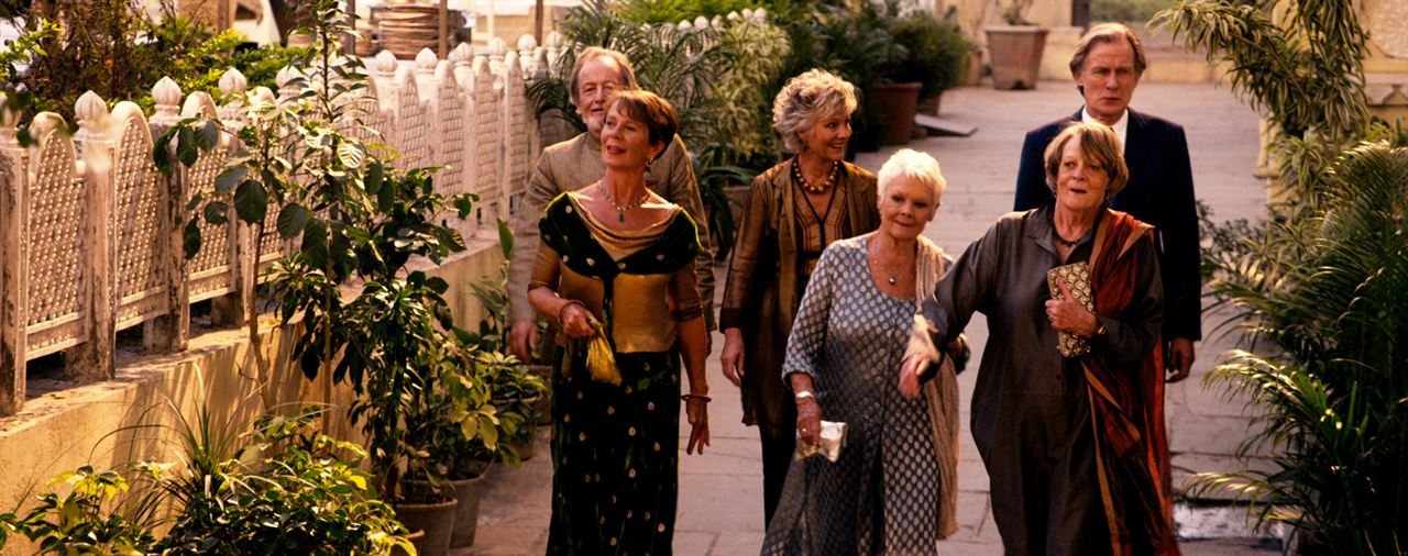 Indian Palace - Suite royale : Photo Bill Nighy, Celia Imrie, Diana Hardcastle, Judi Dench, Maggie Smith