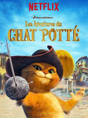 Les Aventures du Chat Potté : Affiche