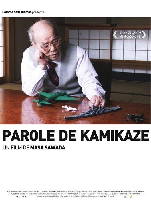 Parole de kamikaze : Affiche