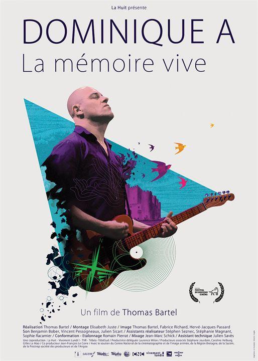 Dominique A, La mémoire vive : Affiche
