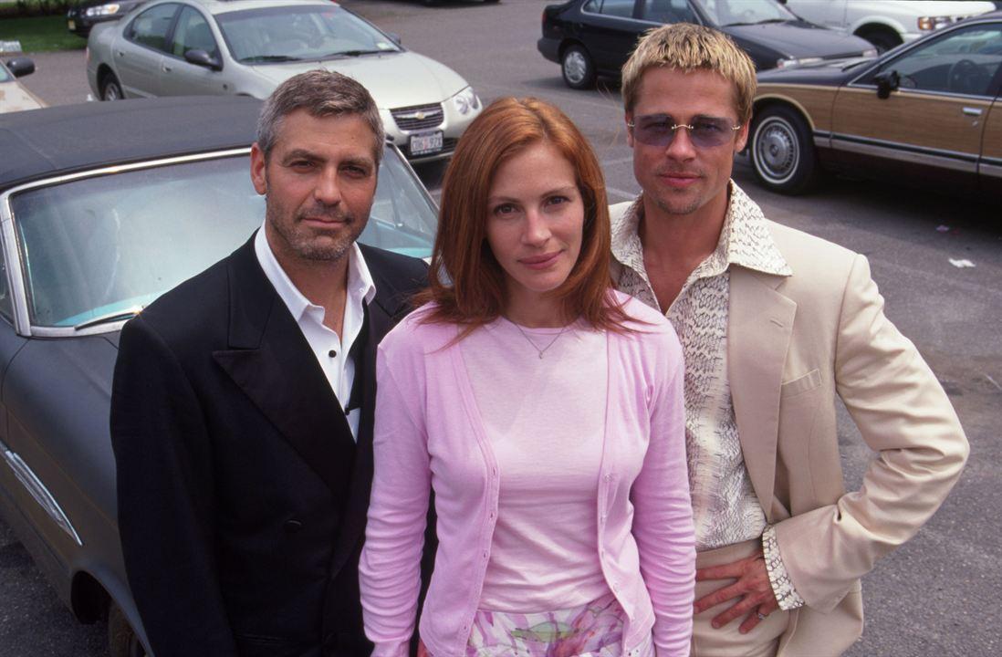 Ocean's Eleven : Photo Brad Pitt, George Clooney, Julia Roberts