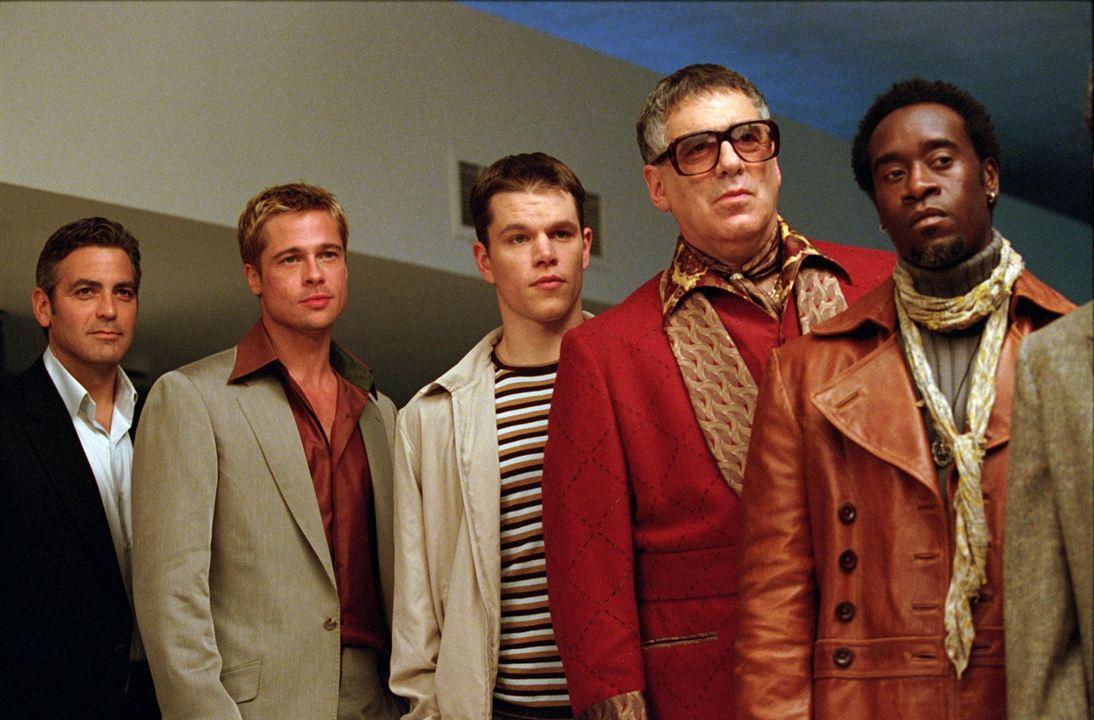 Ocean's Eleven : Photo Brad Pitt, Don Cheadle, Elliott Gould, George Clooney, Matt Damon