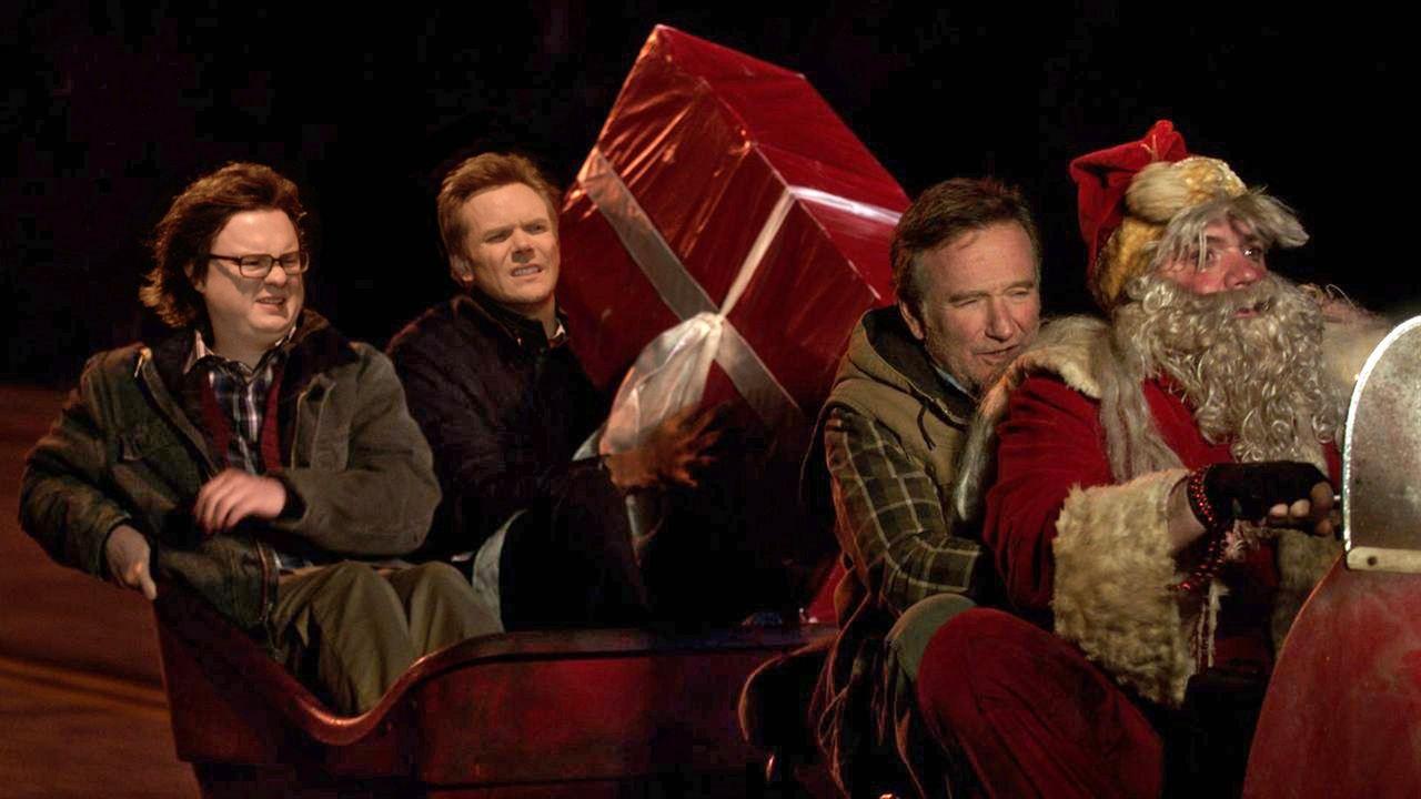 A Merry Friggin' Christmas : Photo Clark Duke, Joel McHale, Robin Williams