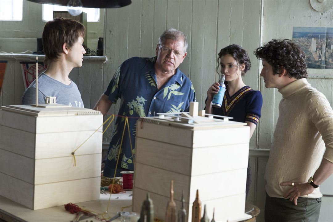 The Walk – Rêver Plus Haut : Photo Charlotte Le Bon, Joseph Gordon-Levitt, Robert Zemeckis