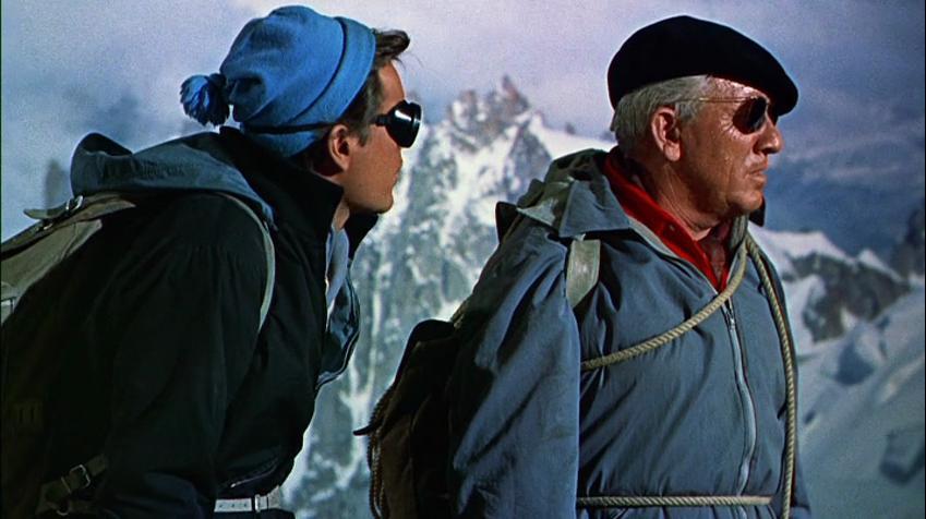 La Neige en deuil : Photo Robert Wagner, Spencer Tracy