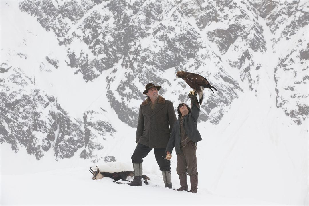 L' Aigle et l'Enfant : Photo Jean Reno, Manuel Camacho