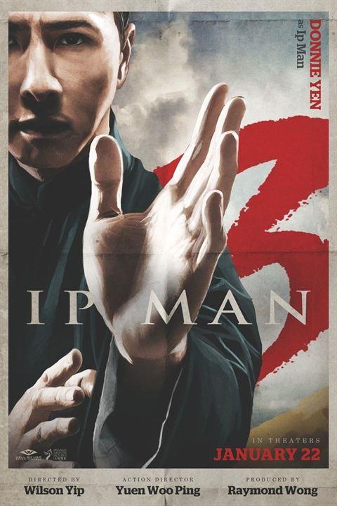 Ip Man 3 affiche