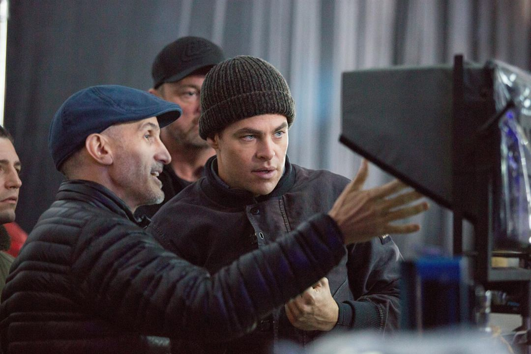 The Finest Hours : Photo Chris Pine, Craig Gillespie