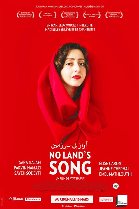 No Land's Song : Affiche
