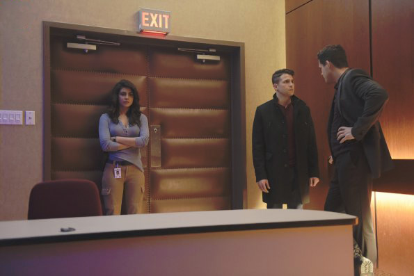 Photo Josh Hopkins, Lenny Platt, Priyanka Chopra