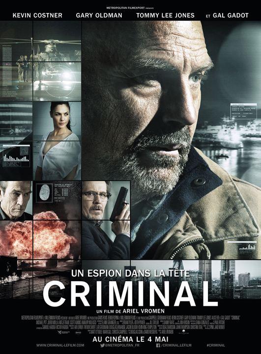 Criminal - Un espion dans la tête : Affiche