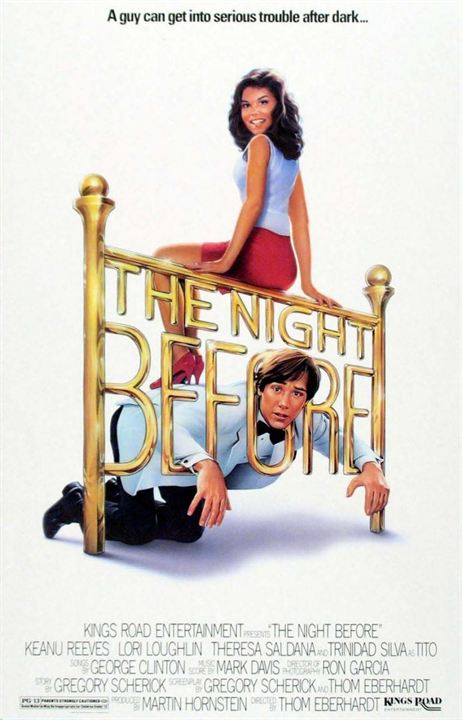 The Night before : Affiche