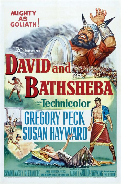 David et Bethsabée : Affiche