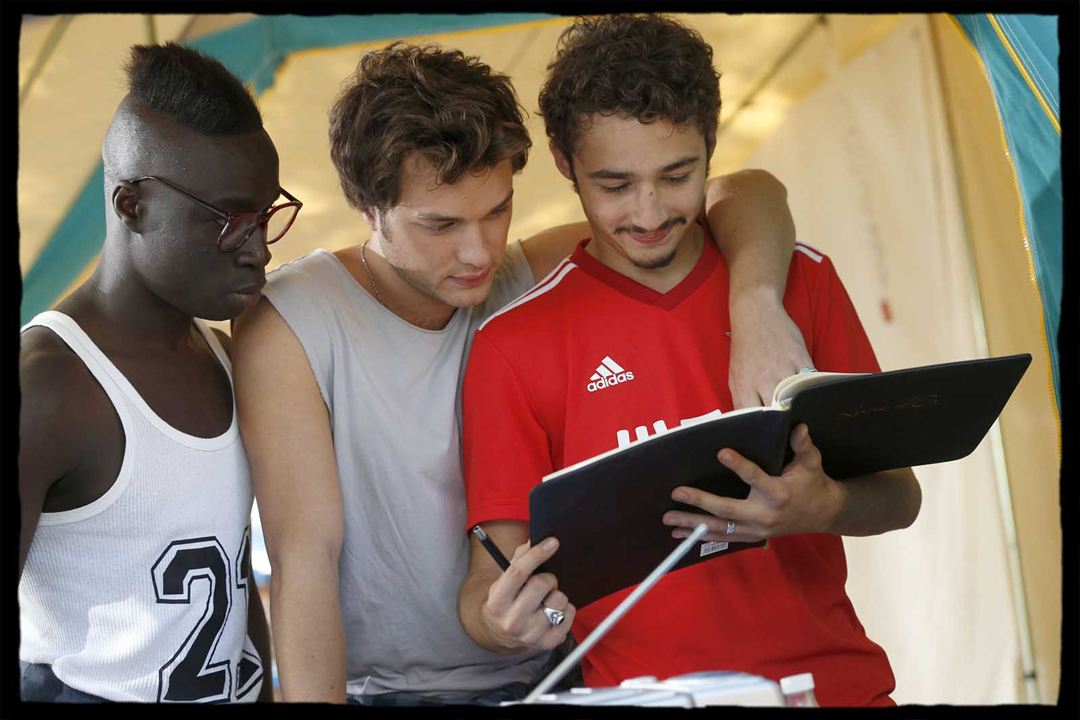 Camping 3 : Photo Cyril Mendy, Jules Ritmanic, Louka Meliava