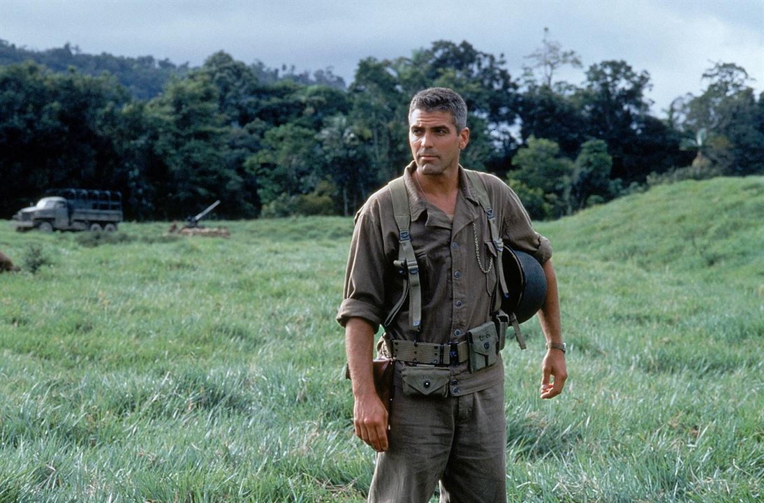 La Ligne rouge : Photo George Clooney