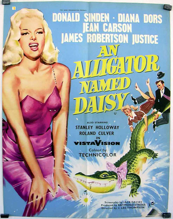 An Alligator Named Daisy : Affiche