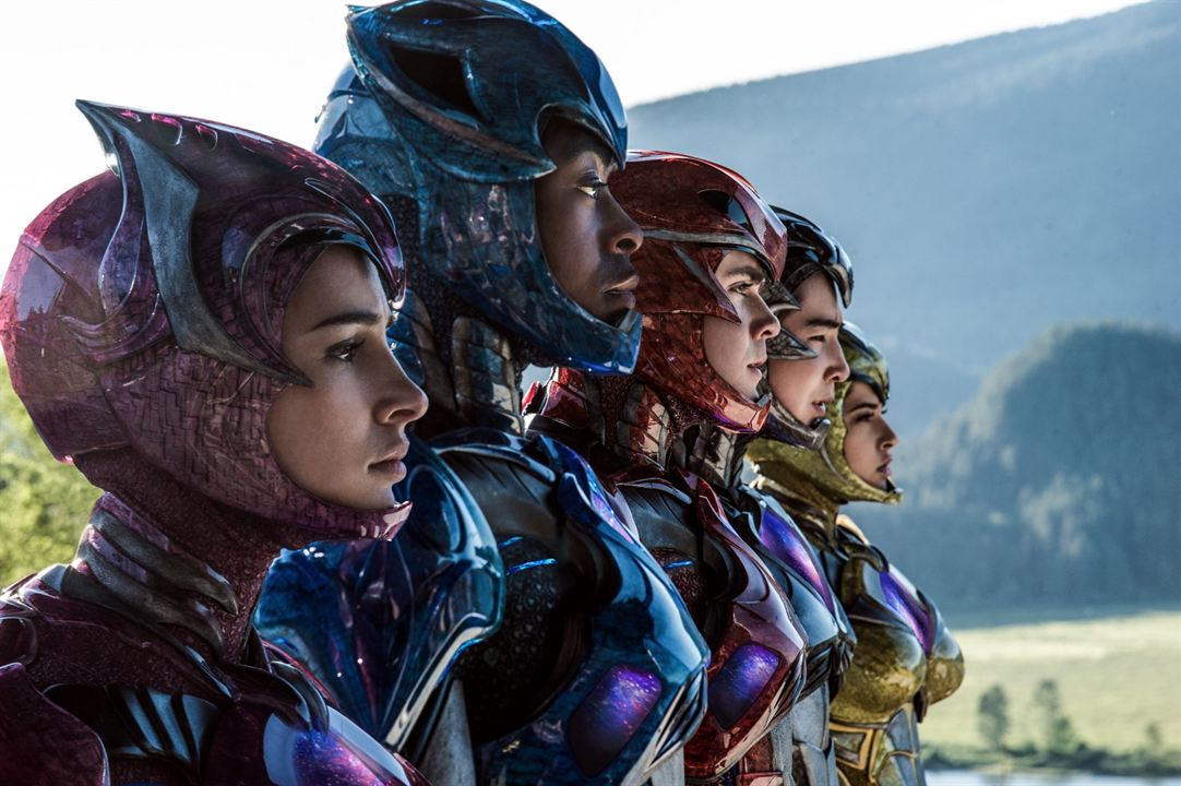 Power Rangers : Photo Becky G, Dacre Montgomery, Ludi Lin, Naomi Scott, RJ Cyler