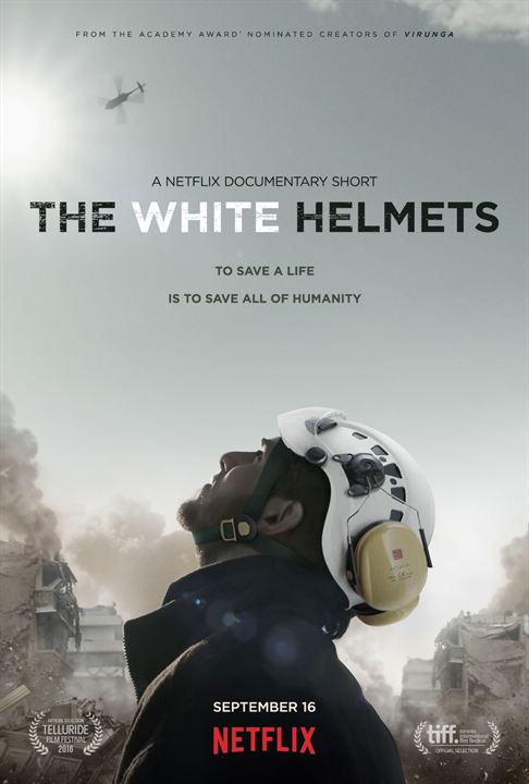 The White Helmets : Affiche