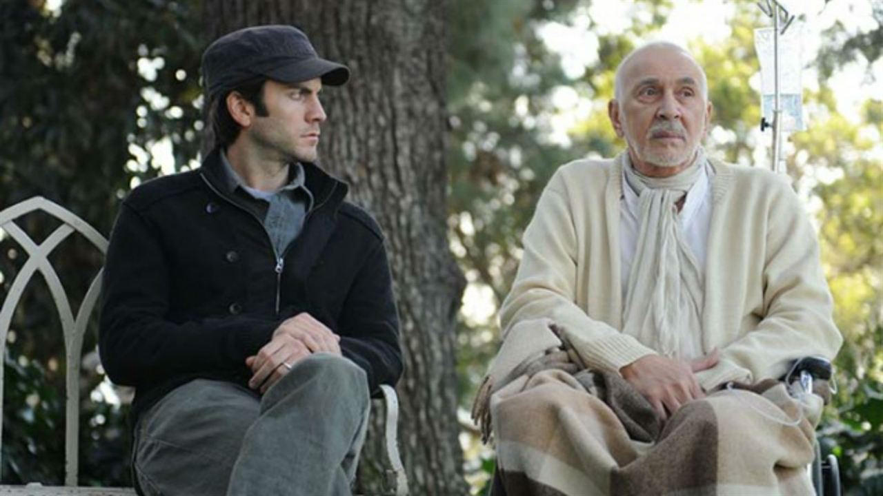 The Time Being : Photo Frank Langella, Wes Bentley