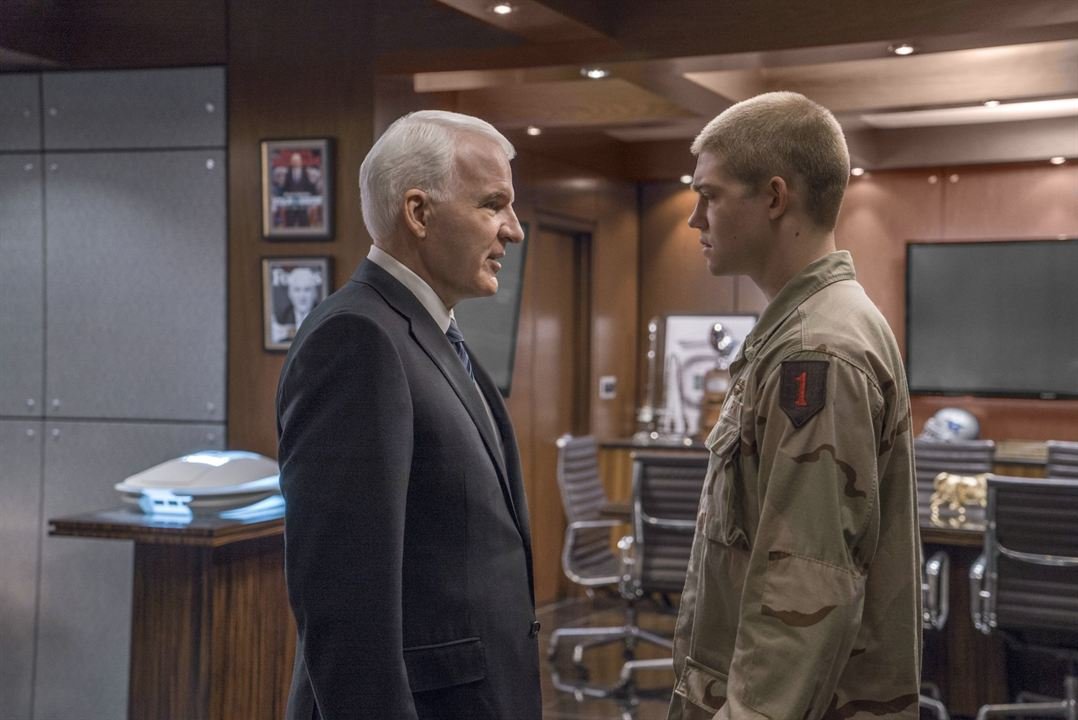 Un jour dans la vie de Billy Lynn : Photo Joe Alwyn, Steve Martin