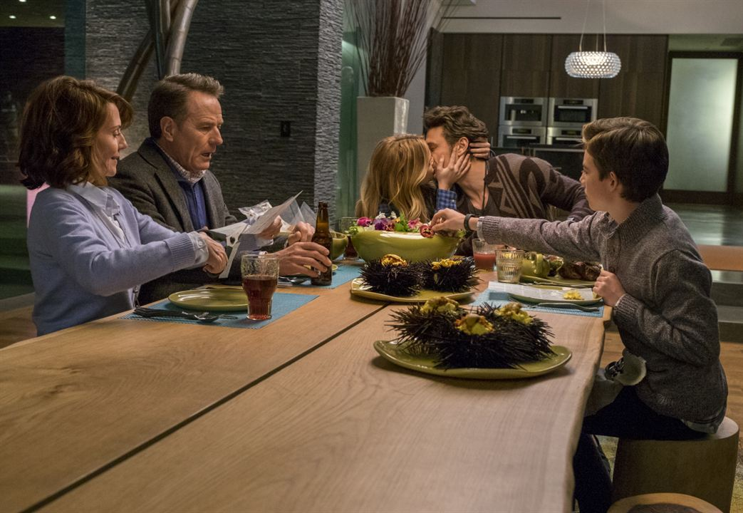 The Boyfriend - Pourquoi lui ? : Photo Bryan Cranston, Griffin Gluck, James Franco, Megan Mullally, Zoey Deutch