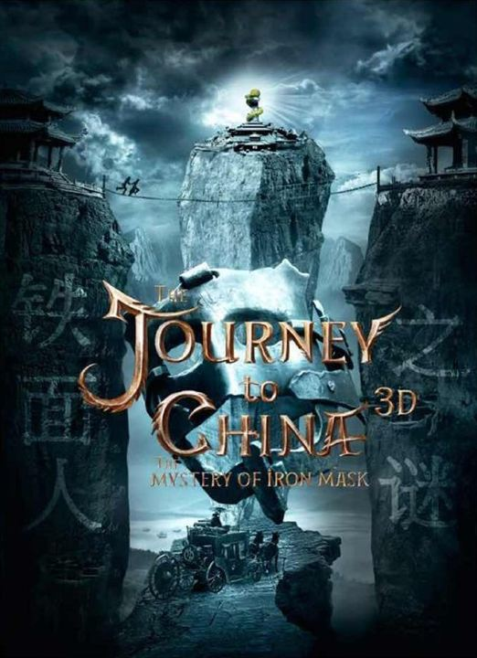 Journey To China: The Mystery Of Iron Mask : Affiche