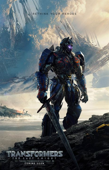 Transformers : The Last Knight : Affiche