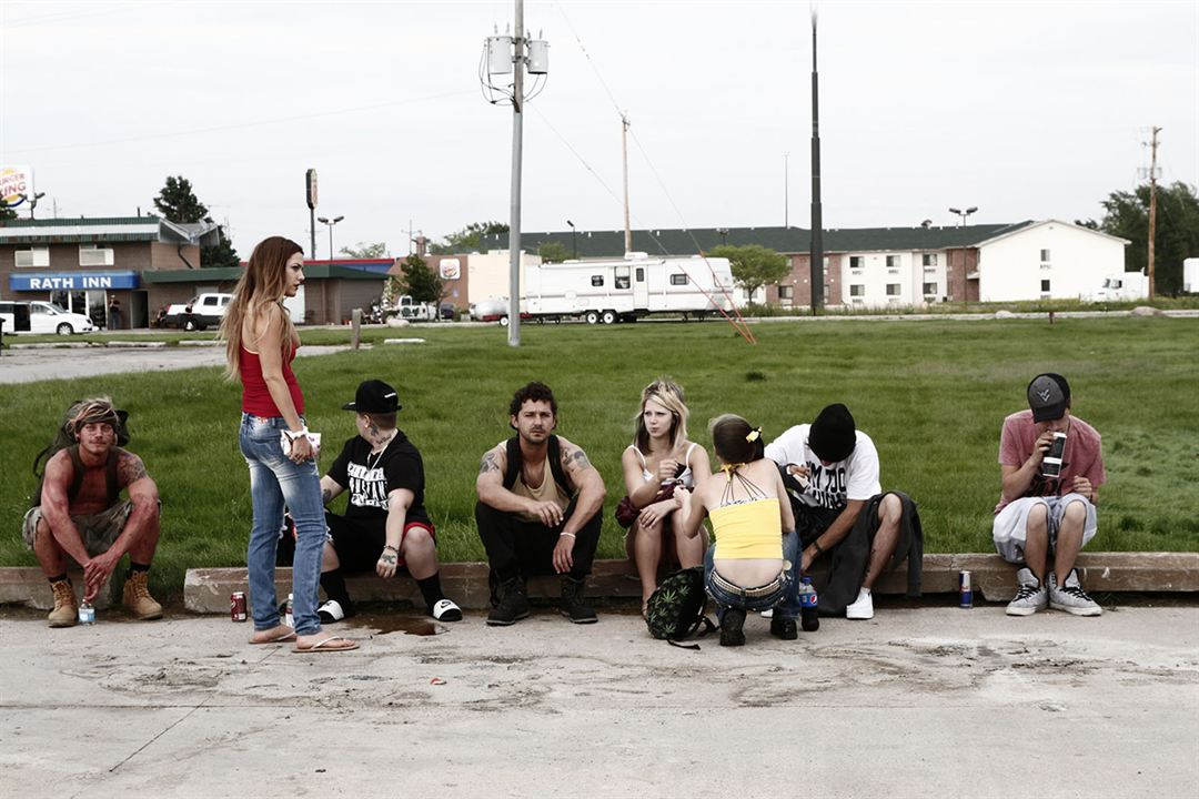 American Honey : Photo Arielle Holmes, McCaul Lombardi, Riley Keough, Shia LaBeouf, Veronica Ezell